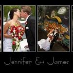 Jennifer & James'  Wedding Day